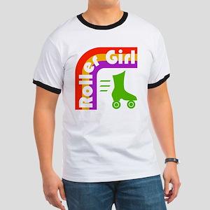Roller Girl Ringer T