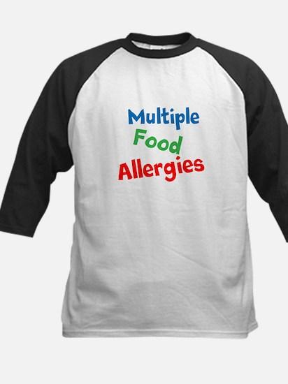 Multiple Food Allergies Baseball Jersey
