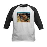 No Andy No!!! Kids Baseball Jersey