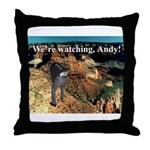 No Andy No!!! Throw Pillow