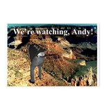 No Andy No!!! Postcards (Package of 8)