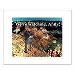 No Andy No!!! Small Poster