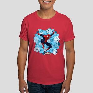 Holiday Spider-Man Web Dark T-Shirt