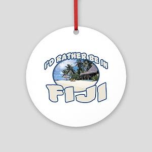 Fiji Ornament (Round)