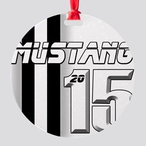 New Mustang Round Ornament