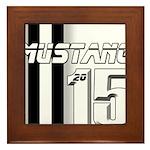 New Mustang Framed Tile