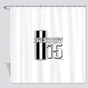 New Mustang Shower Curtain