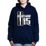 New Mustang Women's Hooded Sweatshirt
