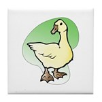 Easter Art Duck Tile Coaster