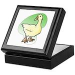 Easter Art Duck Keepsake Box