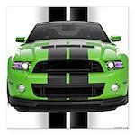 2013stanggreen Square Car Magnet 3