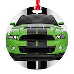 2013stanggreen Round Ornament