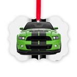 2013stanggreen Picture Ornament