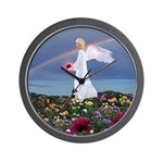 July Birthday Angel : Wall Clock