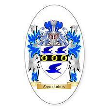 Gyurkovics Sticker (Oval)
