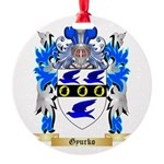 Gyurko Round Ornament