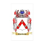 Gyselbrecht Sticker (Rectangle 50 pk)
