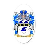 Gyorgy Oval Car Magnet