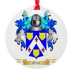 Gyon Round Ornament