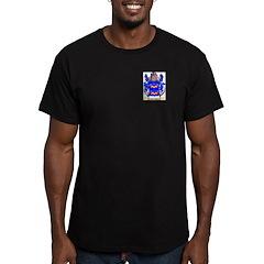 Guzman Men's Fitted T-Shirt (dark)