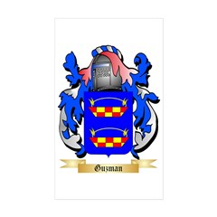Guzman Sticker (Rectangle 50 pk)