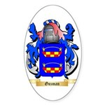 Guzman Sticker (Oval 50 pk)