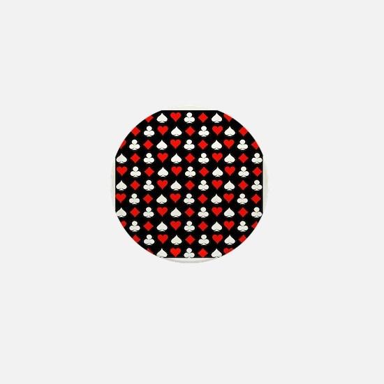 Poker Symbols Mini Button