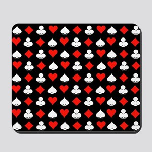 Poker Symbols Mousepad