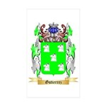 Gutierrez Sticker (Rectangle 50 pk)