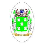 Gutierrez Sticker (Oval)