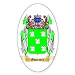 Gutierrez Sticker (Oval 10 pk)