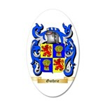 Guthrie 35x21 Oval Wall Decal