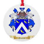 Gustin Round Ornament