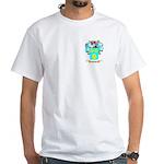 Gustav White T-Shirt