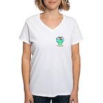 Gustav Women's V-Neck T-Shirt