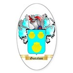 Gustafson Sticker (Oval 50 pk)