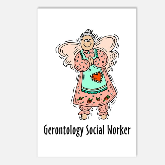 Gerontology SWF Angel Postcards (Package of 8)