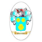 Gustafsen Sticker (Oval 50 pk)
