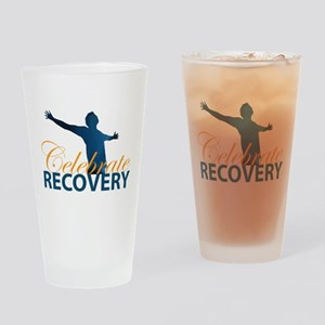 Celebrate Recovery Design Drinking Glass