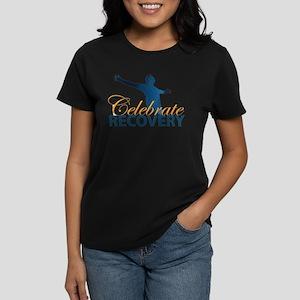 Celebrate Recovery Design Women's Dark T-Shirt