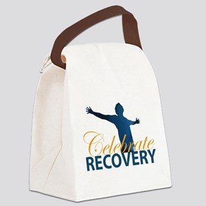 Celebrate Recovery Design Canvas Lunch Bag