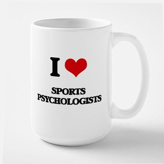 I love Sports Psychologists Mugs