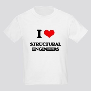 I love Structural Engineers T-Shirt