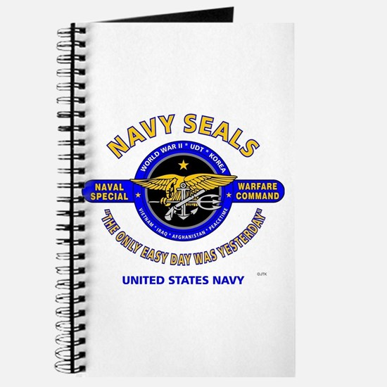 NAVY SEALS THE ONLY EASY DAY WAS YESTERDAY Journal
