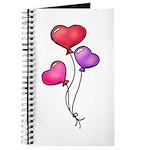 Valentine Art Heart-Shaped Balloons Journal