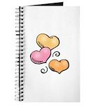 Valentine Art Hearts Journal