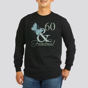 60th Birthday Butterf Long Sleeve T-Shirt