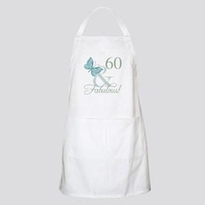 60th Birthday Butterfly Apron