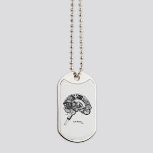 This is your Brain on Art Dog Tags