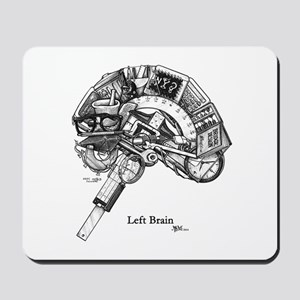 This is your Brain on Art Mousepad